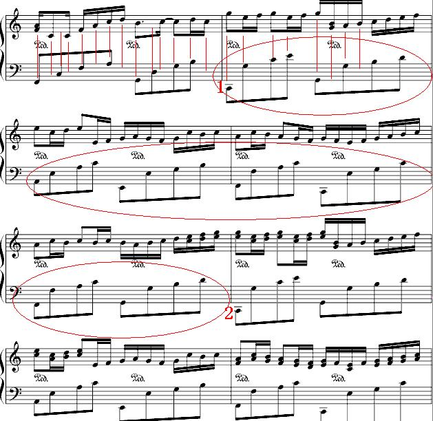 萧的钢琴简谱