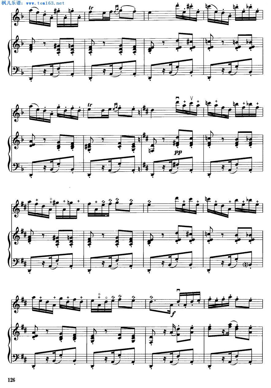 枫儿乐谱 乐谱库 乐器演奏乐谱 钢琴谱 >> 正文:卡门主题幻想曲