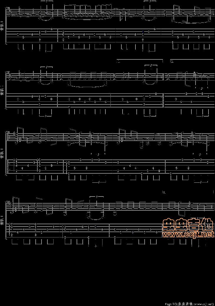 情动简谱网 吉他谱 最简单的吉他谱歌曲小星星   描述:2014年6月18日