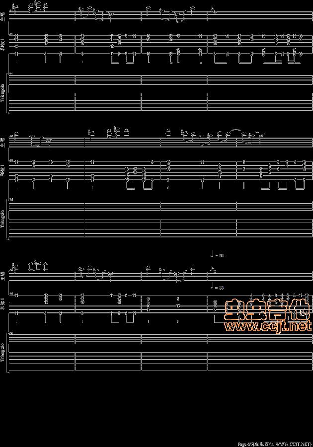 歌谱简谱网新疆好-中国好声音吉他谱