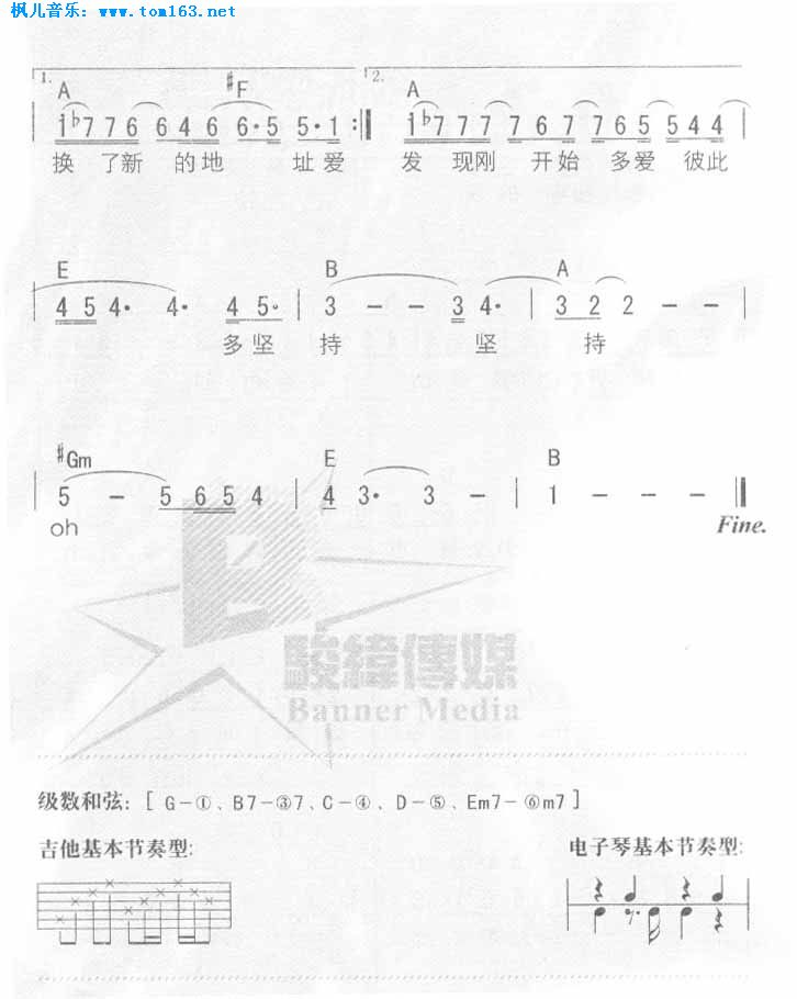 从零学简谱与五线谱的弹奏 第一课